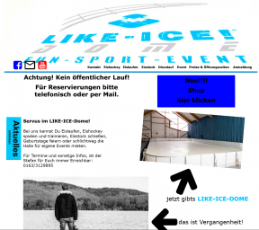 Website LIKE-ICE-DOME